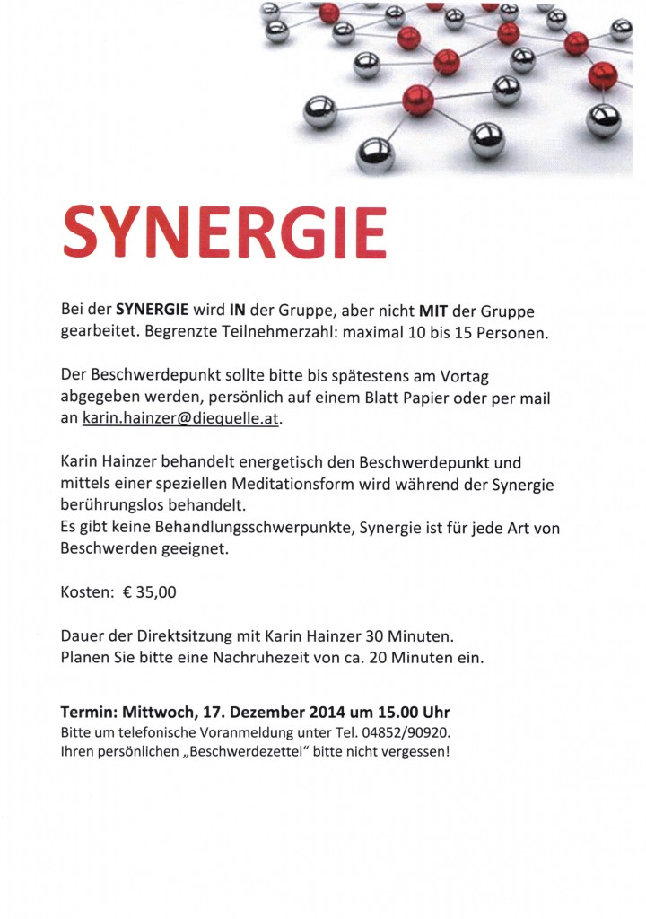 Synergie 17.12.2014