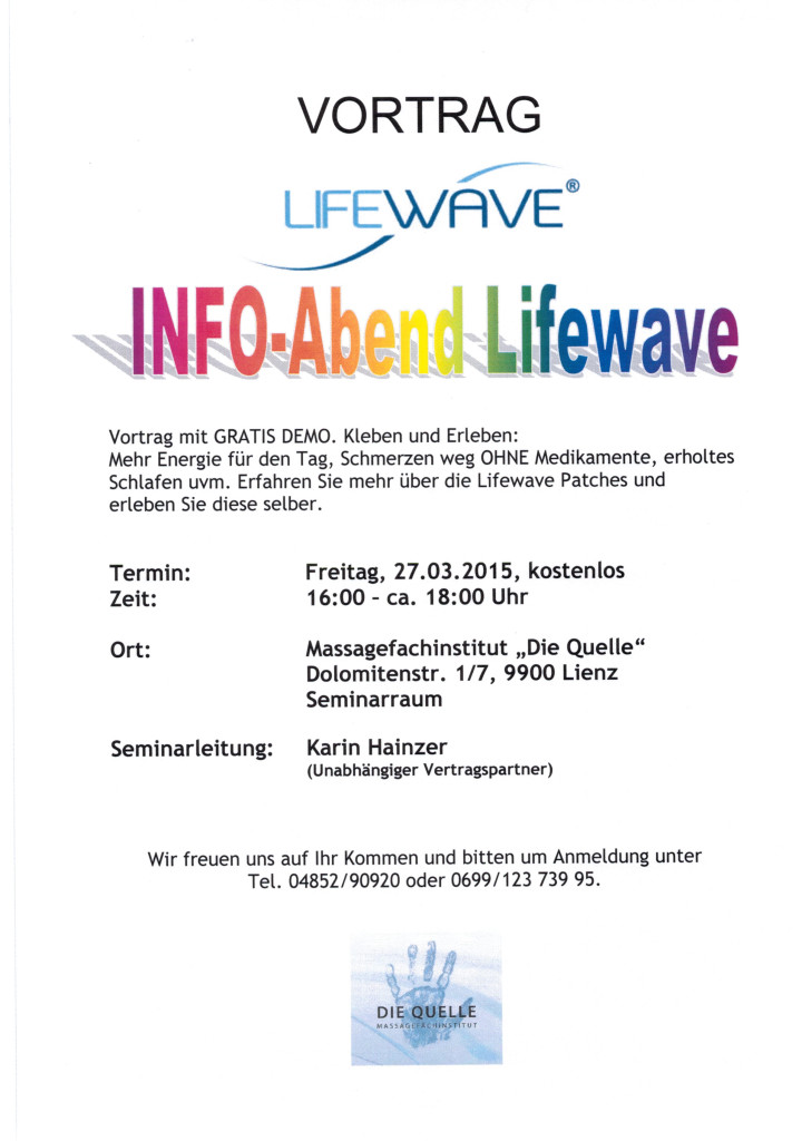 LifeWave 27.03.2015