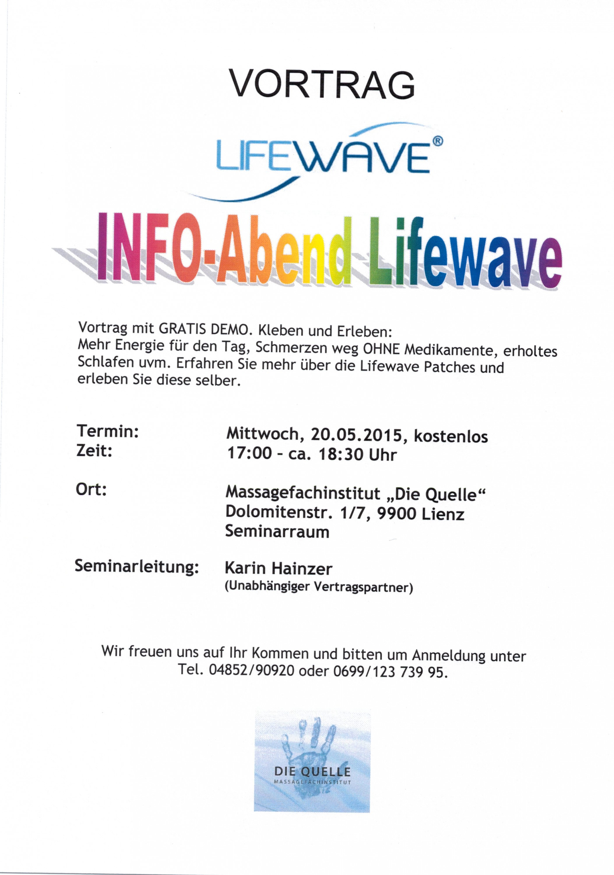 LifeWave 20.05.2015
