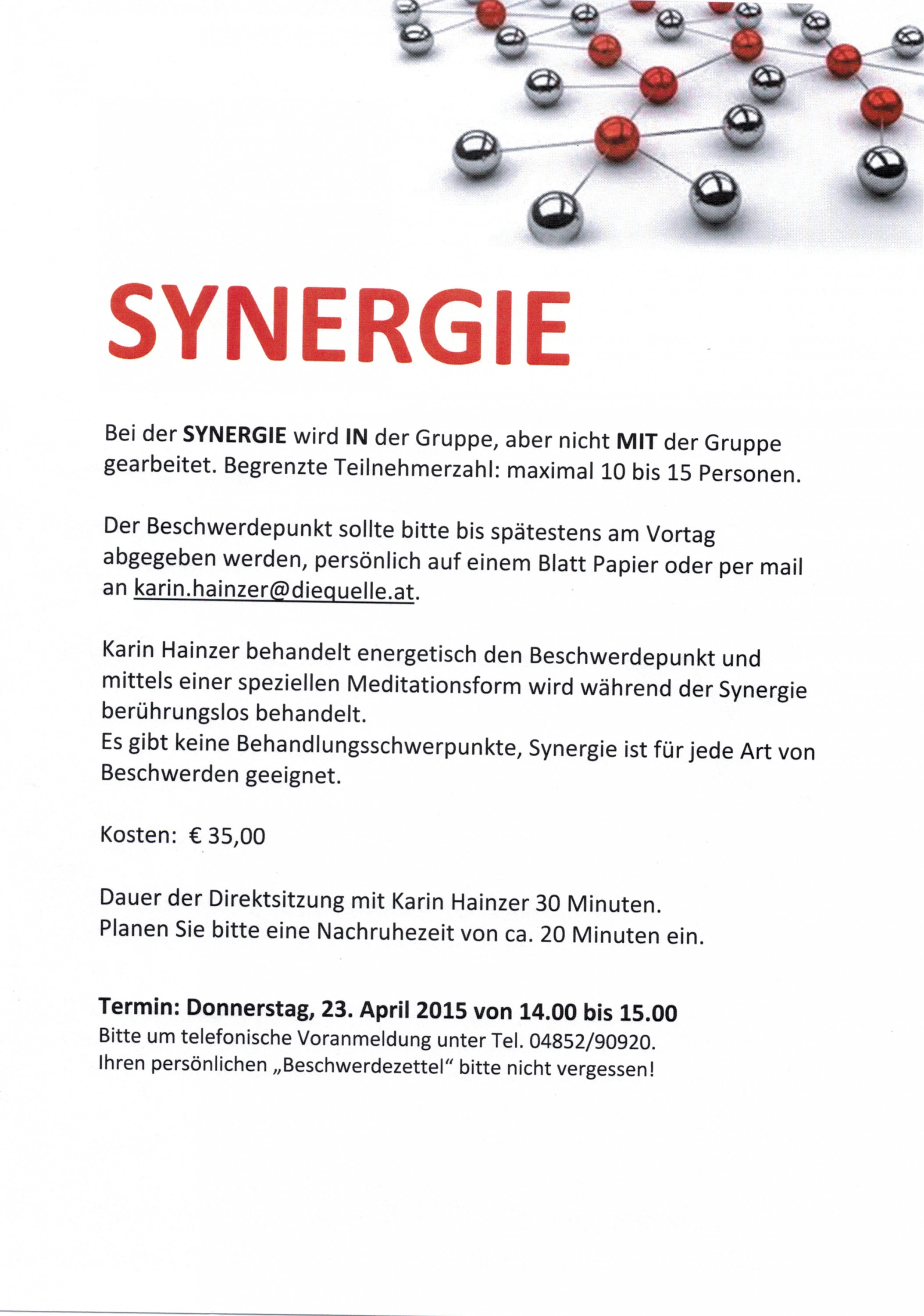 Synergie 23.04.2015