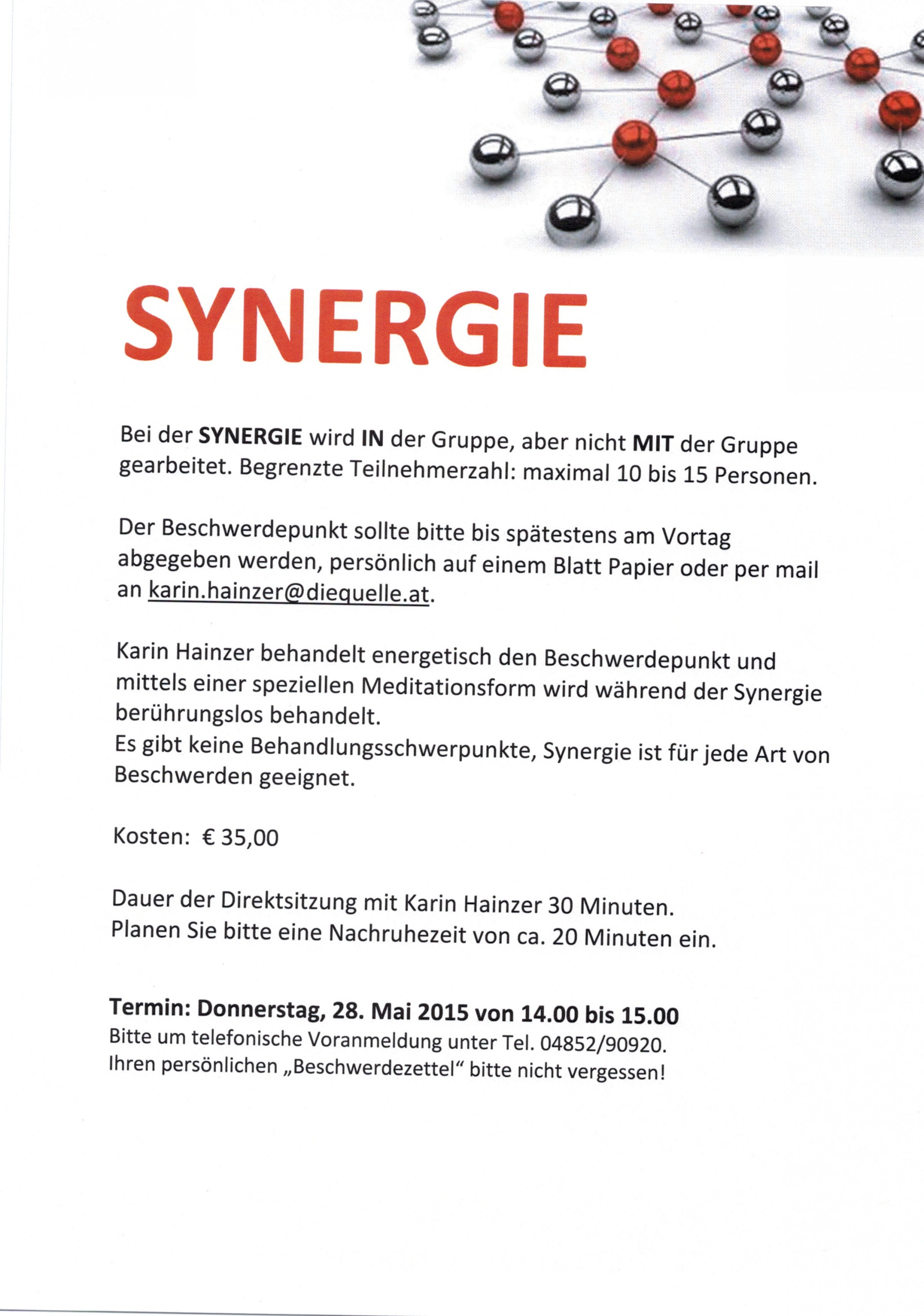 Synergie 28.05.2015