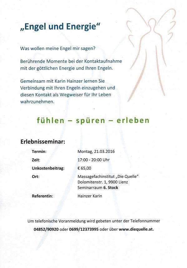 Engel und Energie 21.03.2016
